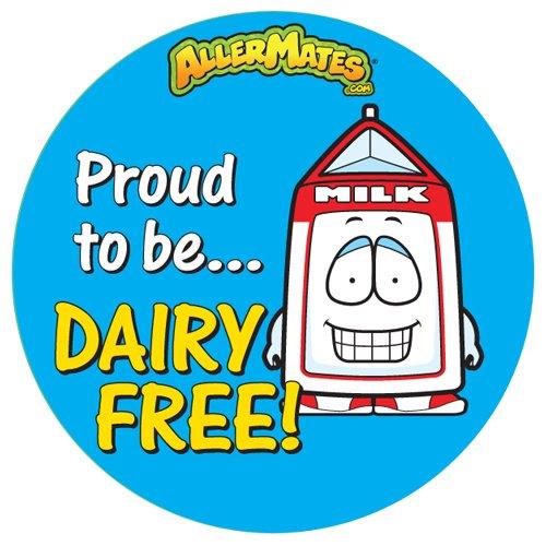 AllerMates Dairy-Free Alert Stickers 24 Pack - 1