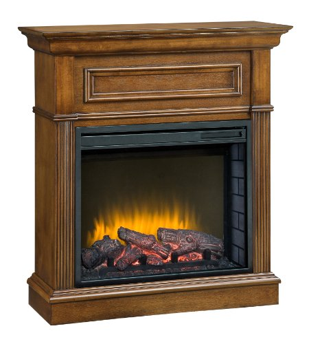 Pleasant Hearth 23-Inch Hawthorne Heritage Compact Electric Fireplace image B008Q26I5U.jpg