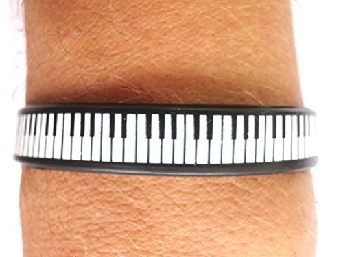 piano-music-keys-rockabilly-rock-n-roll-mens-ladies-silicone-rubber-wrist-band-bracelet