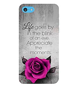 EPICCASE Good Thiking Quote Mobile Back Case Cover For Apple iPod Touch 6 (Designer Case)