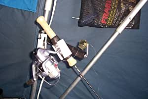 Portable rod holder with bell alerts you for Fish bite rod holders