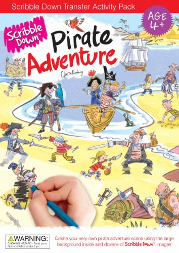 Scribble Down Pirate Adventure Transfer Activity Packs - 1