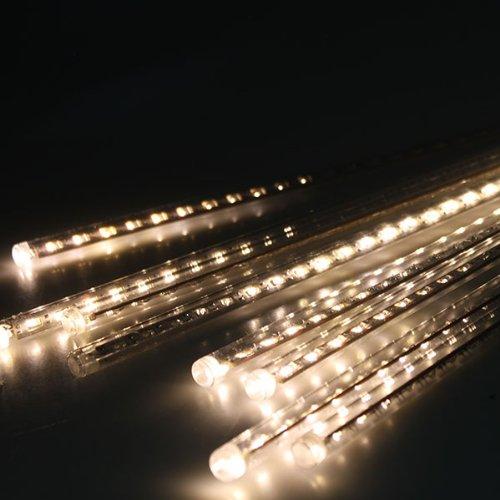 AGPtek® 50cm 240 LED 8 Tube Warm white Holiday