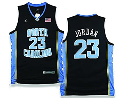 Michael Jordan North Carolina Tarheels Jersey Adult Medium BLACK