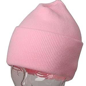 Pastel Pink Winter Beanie