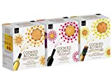 Cookies & Corks Wine Pairing Variety, 7.87 & 6.9-Ounce Boxes (Pack of 3)