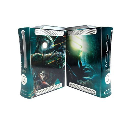 Bioshock Xbox 360 Protector Skin Decal Sticker, Item No.BOX0832-19