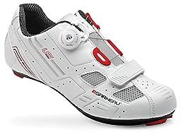 Louis Garneau LS-100 Men\'s Shoes White, 42.0