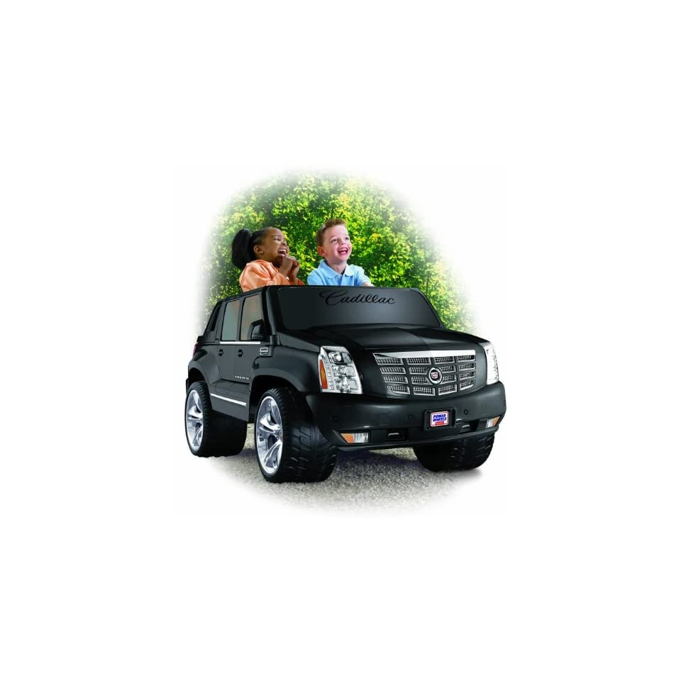 Power Wheels Cadillac Escalade EXT 12V Electric Ride On Truck  N9522