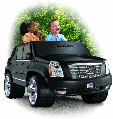 Power Wheels Cadillac Escalade EXT 12V Electric Ride-On Truck | N9522