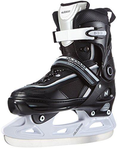 Nijdam-Paire-de-patins-de-hockey-sur-glace-rglables-pour-enfants