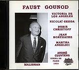 Faust, De los Angeles, Gedda, Cluytens
