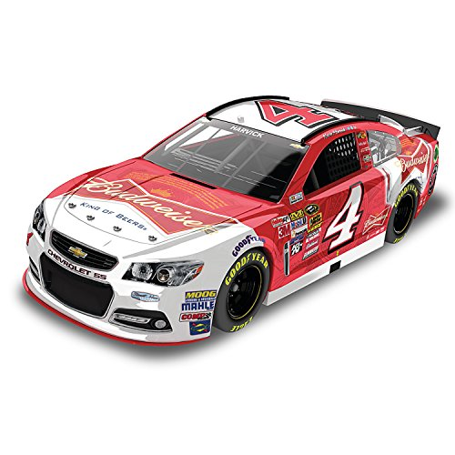 2015 NASCAR Sprint Cup Kevin Harvick No. 4 Budweiser Diecast Car in 1:24 Scale by The Hamilton Collection