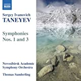 echange, troc Novosibirsk Academic Symphony Orchestra - Taneyev: Symphonies Nos. 1 & 3