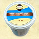 Authentic Organic IVORY Shea Butter FILTERED & CREAMY 32 Oz - The Highest Quality Butter (Pack of 3)