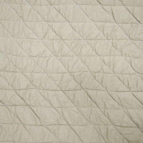Brown edredón de algodón hecho a mano Tamaño Twin decorativo floral patrón Colcha Reversible Indian Gudri 88