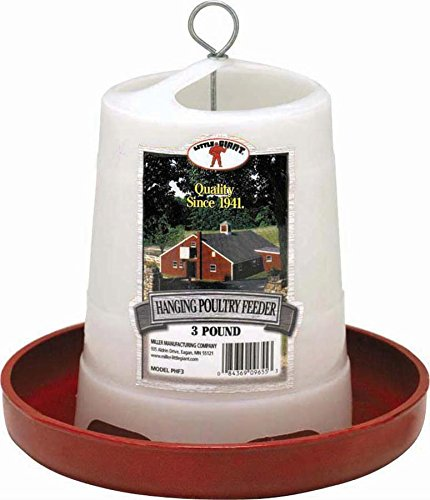 Little Giant Hanging Poultry Feeder 3lb (Tube Chicken Feeder compare prices)