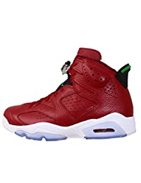 "Nike Mens Air Jordan 6 Retro Spizike ""History of Spizike"" Leather Basketball Shoes"