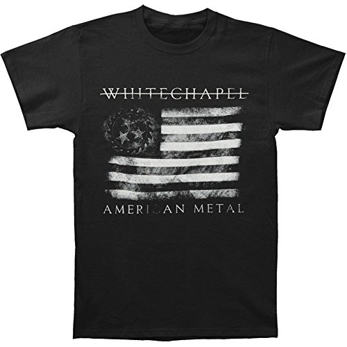 Michaner Walosde Whitechapel Men's Strike Through Salute T-shirt Black XX-Large