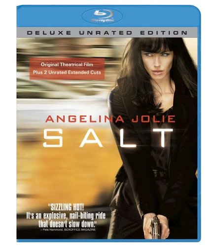 Blu-ray : Salt (Unrated Version, , Dubbed, Dolby, AC-3)