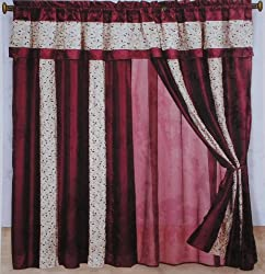 Canopy Lined Ombre Faux Silk