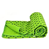 Bestek Kidless Mat-size Yoga Towel Yoga Mat Towel Yoga Towels for Mat Hot Yoga Towel