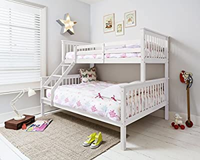 Hanna Triple Bed in White Bunk Kids Bed