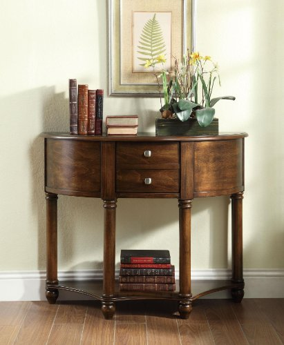 Coaster Home Furnishings Transitional Console Table, Cherry front-390251