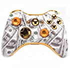 Gold Money Xbox 360 Rapid Fire Modded Controller 35 Mode for COD Ghosts Black Ops 2 Cod Mw3