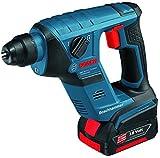 Bosch Akkubohrhammer GBH 18 V-LI Compact Professional, blau L-BOXX, 2x Akku (1,5 Ah)