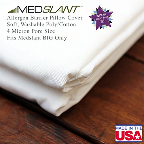 "Review Of Medslant Allergen Barrier ""BIG"" Wedge Pillow Cover for the Medslant BIG Wedge Pi..."