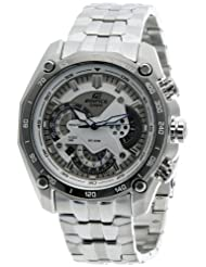 Casio Edifice Measures-Seconds Analog White Dial Men's Watch EF-550D-7AVDF
