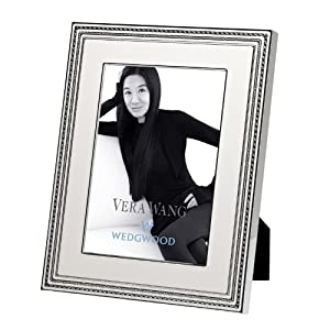 Vera Wang Metalware With Love Blanc Picture Frame 8X10