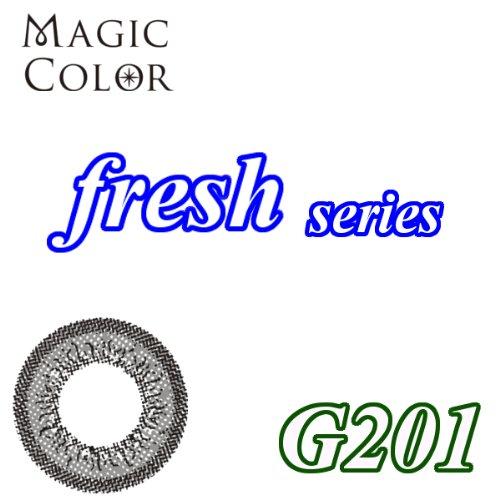 MAGICCOLOR (マジックカラー) fresh G201 度なし 14.0mm 1ヵ月使用 2枚入り