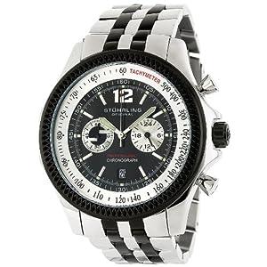 Stuhrling Original Men's 176AA.3325213 Sportsman 'Targa Elite' Chronograph Watch