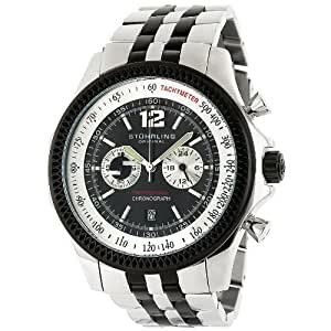 Stuhrling Original Men's 176AA.3325213 Sportsman 'Targa Elite' Chronograph Watch