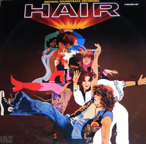 Hair Original Soundtrack Recording Cd Covers
