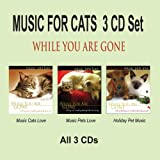 MUSIC FOR CATS 3 CD Set - While You Are Gone, Cat Music & Pet Music ~ Pet Music Artists