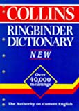 Collins Ringbinder Dictionary (0004707834) by No Author