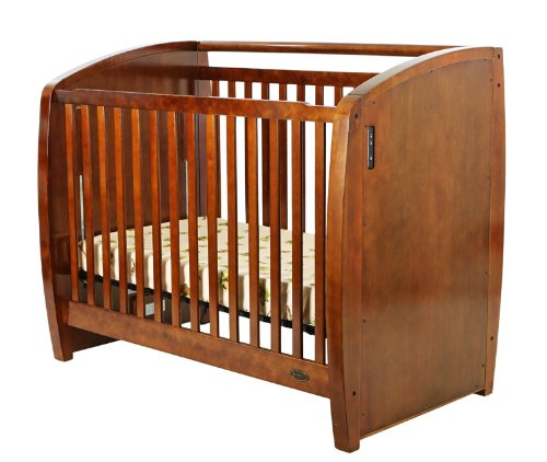 Dream On Me Electronic Wonder Crib, Espresso - 1