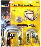 Blackspur Shed Hook Set - 10 Pieces BB-HA117