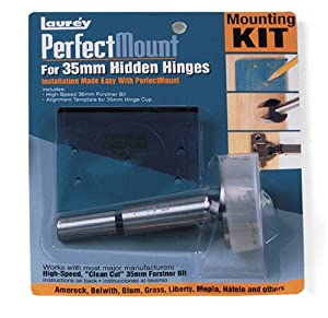 Laurey 98301 Perfect Mount Precision Template for Hidden Hinges