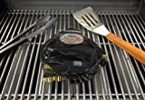 Grillbot GBU102 Automatic Grill Cleaning Grillbot, Black