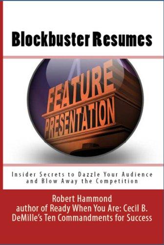 Book: Blockbuster Resumes by Robert Hammond