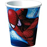 Amazing Spider-Man 9-Ounce Cups, 8-Count Packages (Pack of 6)