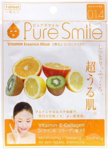 ピュアスマイルエッセンスマスクシリーズ ビタミン30枚セット