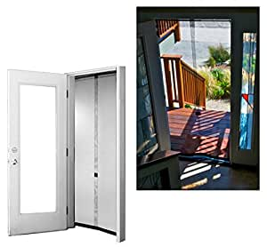 Bug Off 36 by 80 Instant Screen, Fits Standard Single Front Doors and 6-Foot Sliding Glass Doors