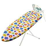 Cotton Ironing Board Cover with foamback and drawstrings. Standard 102x43cm by Caraselle. Funtime designby Caraselle