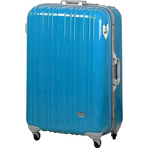 TSAロック スーツケース SPALDING モデル0614 ≪ブルー≫ 大型 Lサイズ 73cm 5.9kg 103リットル 8泊以上 スポルディング ポリカーボネイト100% ハード キャリー