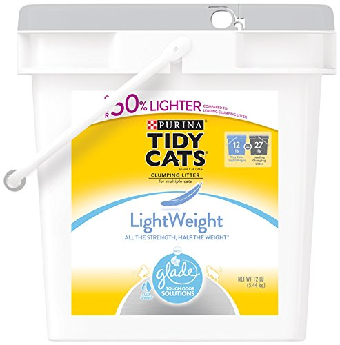 tidy-cats-litiere-pour-chat-agglomerante-glade-leger-12-pound-seau-lot-de-1